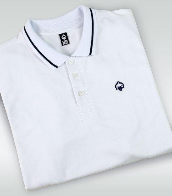 """""""Minimal"""" Polo White"""