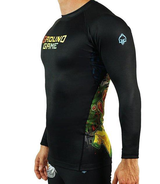 "Rashguard ""Brasil"" long sleeve"