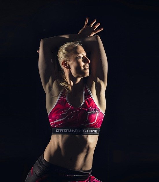"Sports bra ""Pink"""