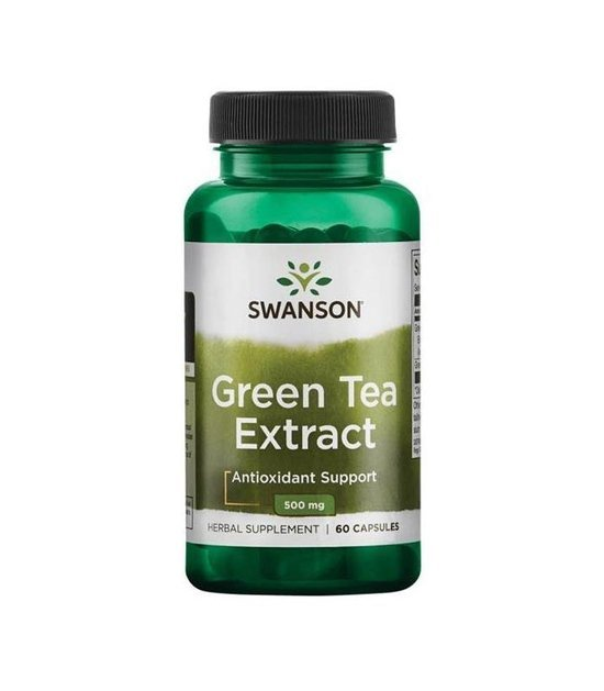 Swanson Green Tea Extract 60 kapsułek 500mg