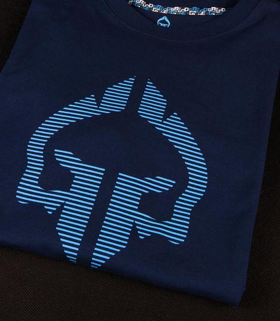"T-shirt ""Big Logo"" Navy Blue"