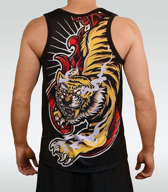 "Tank Top ""Red Tiger"""