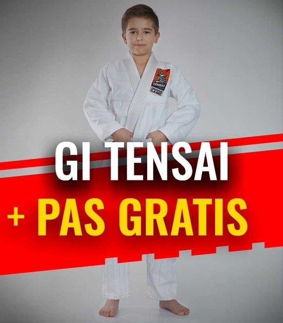 """""""Tensai"""" BJJ Kids GI (White) + FREE Belt"""