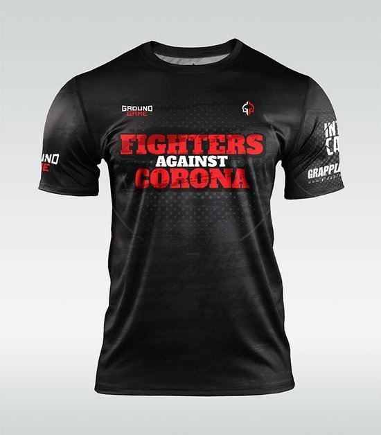 """Training t-shirt """"Fighters Against Corona"""""""