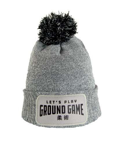"""Winter Hat """"Ground Game"""" Grey"""