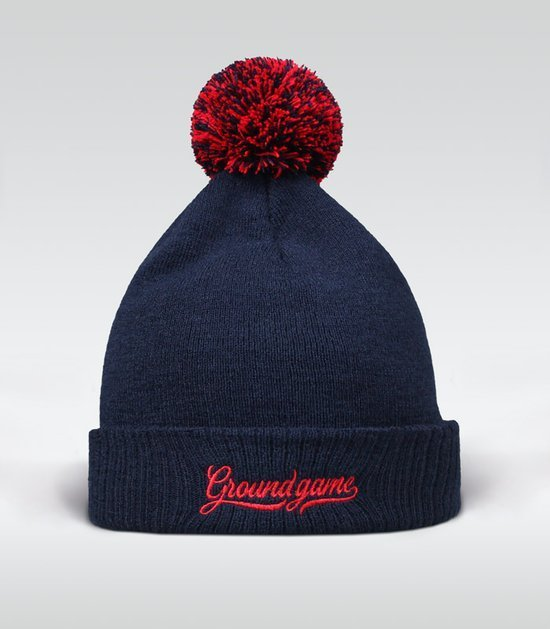 "Winter Hat ""Vinted"" (navy blue)"