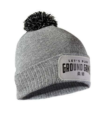 """Czapka zimowa """"Ground Game"""" szara"""