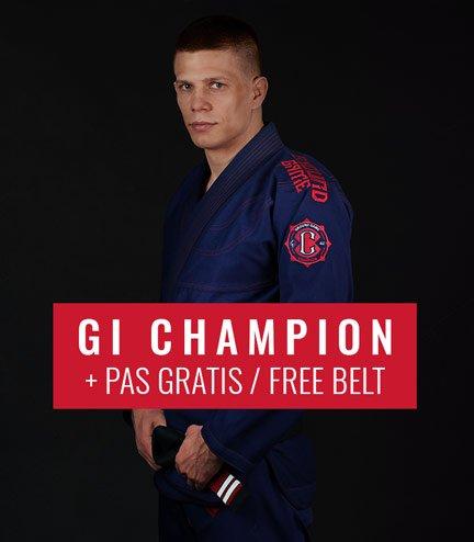 "GI do BJJ ""Champion 2.0"" (Granatowe) + pas GRATIS"