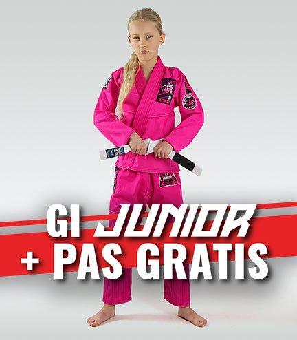 "GI do BJJ dla dzieci ""Junior 3.0"" (Różowe) + pas GRATIS"