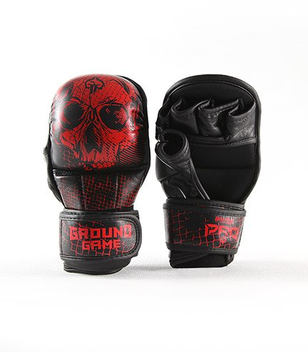 "Rękawice sparingowe MMA PRO ""Red Skull"""