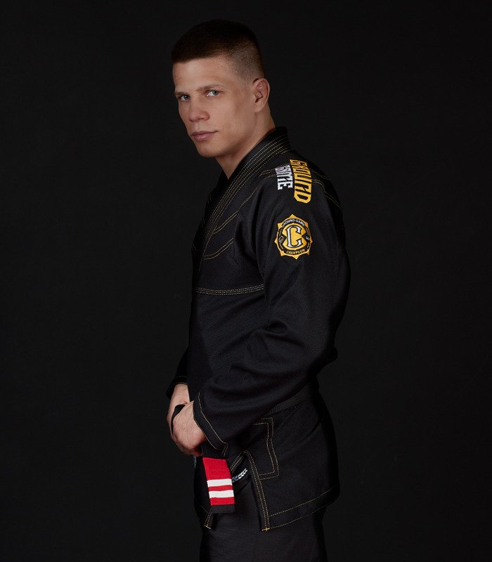 "GI do BJJ ""Champion 2.0"" (Czarne)"