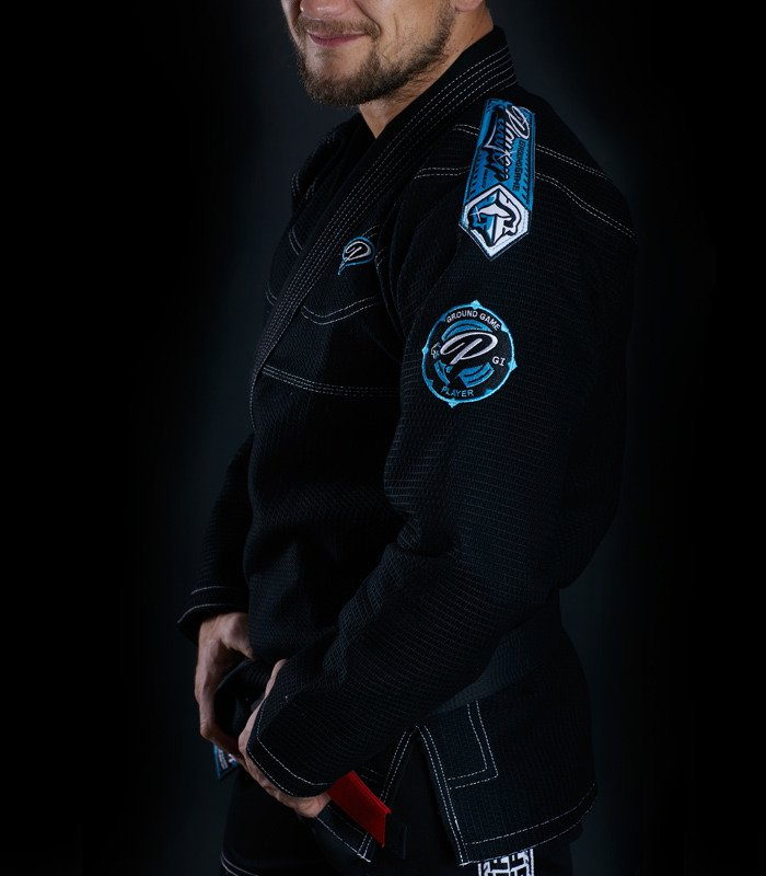 "GI do BJJ ""Player"" (Czarne)"