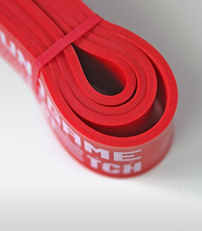 Guma treningowa Power Band (czerwona, 44 mm, 23-57 kg)