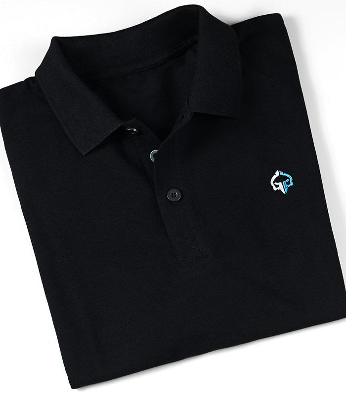 "Koszulka polo  ""Minimal"" Czarna"
