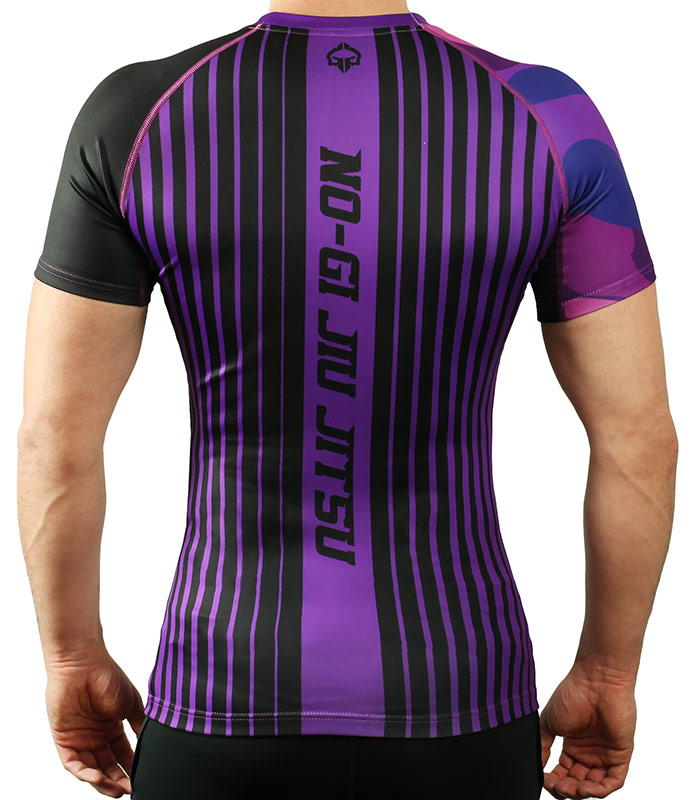 Rashguard do BJJ rankingowy IBJJF purpurowy