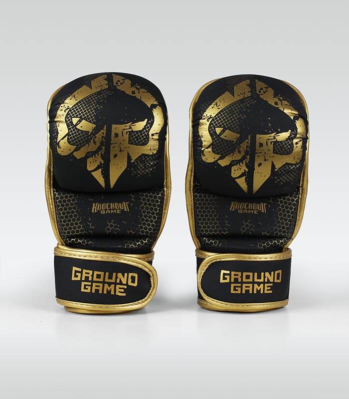 "Rękawice sparingowe MMA ""Cage Gold"""