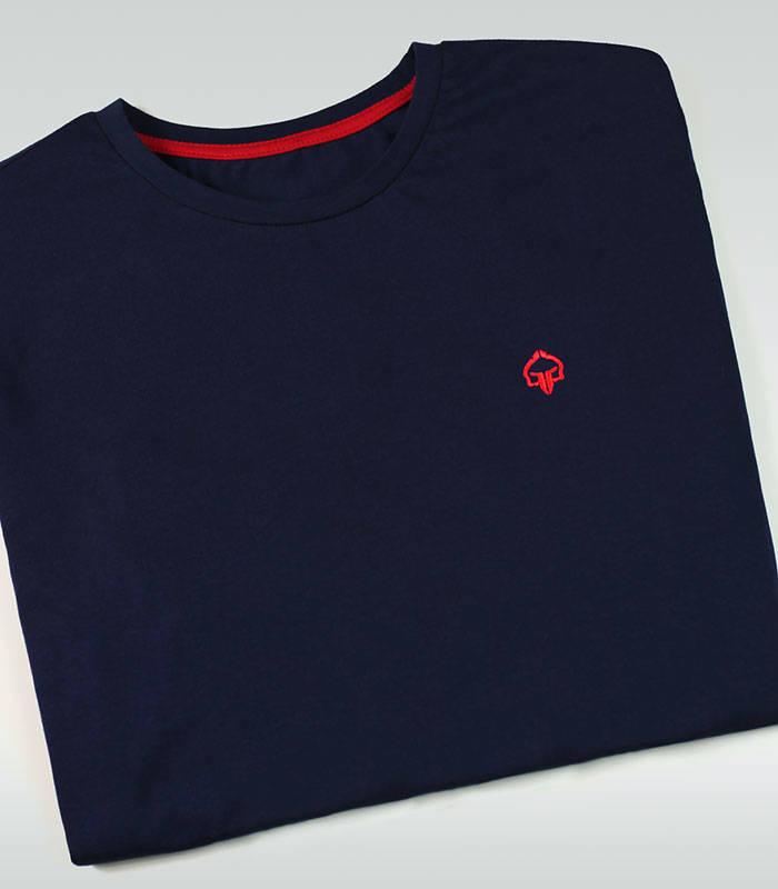 """T-shirt """"Minimal 2.0"""" Granatowy"""