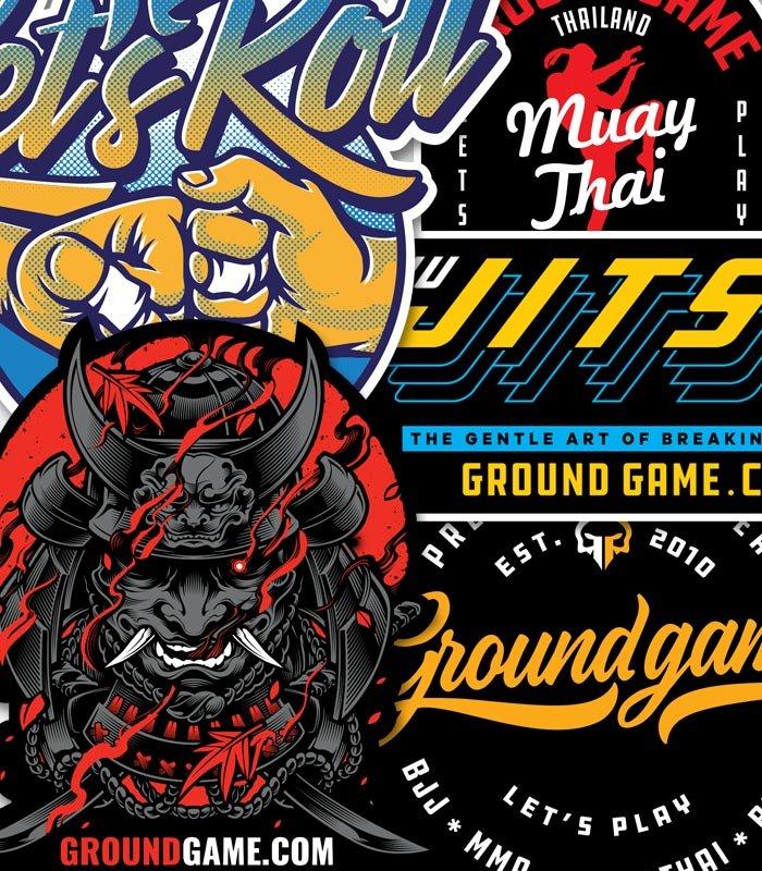 Zestaw 5 wlep Ground Game