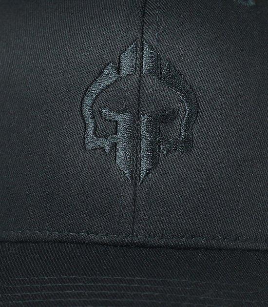 """Czapka z daszkiem """"Logo Shadow"""" Czarna"""