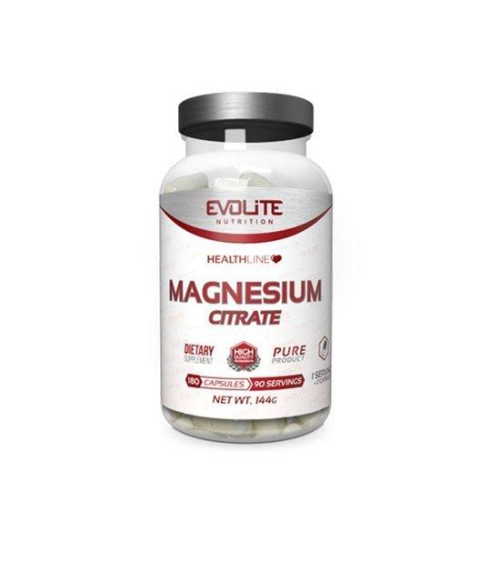 Evolite Cytrynian Magnezu 180 kapsułek