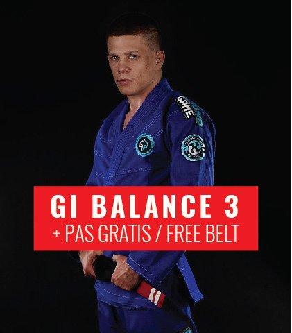 "GI do BJJ ""Balance 3"" (Niebieskie) + pas GRATIS"