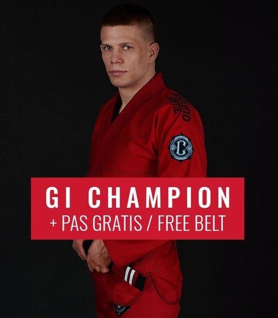 """GI do BJJ """"Champion 2.0"""" (Czerwone) + pas GRATIS"""