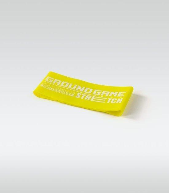 Guma treningowa Mini Band (żółta, 0.6 mm, 7-13 kg)
