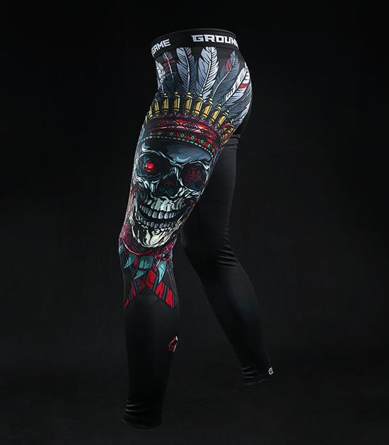 "Legginsy ""Indian Skull"""