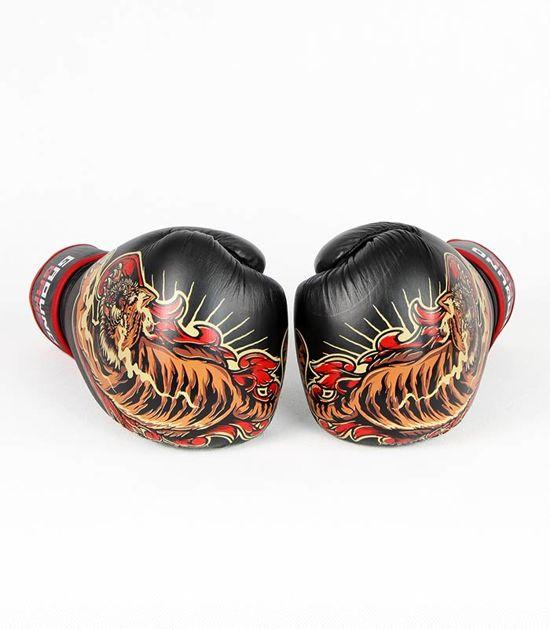 "Rękawice bokserskie PRO ""Red Tiger"" 16 oz"