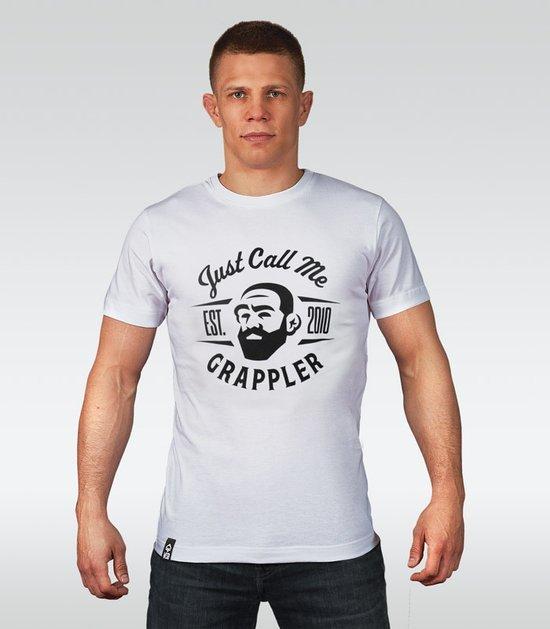"T-shirt ""Grappler"" Biały"