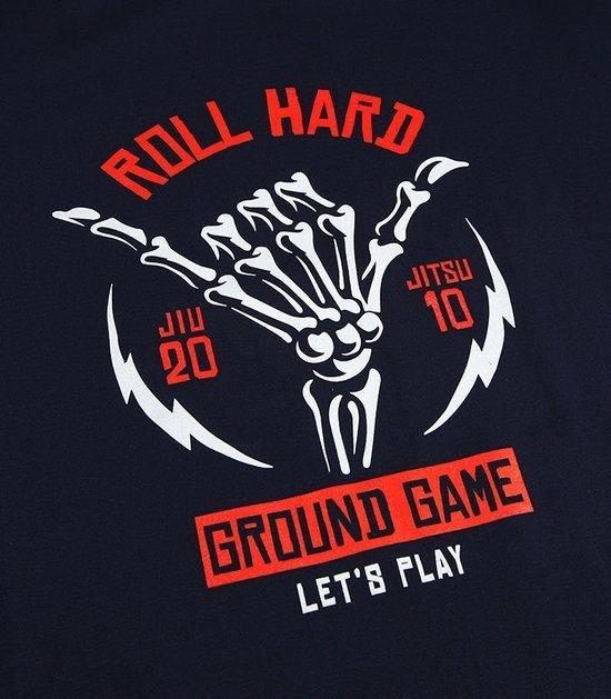 """T-shirt """"Roll Hard"""" Granatowy"""